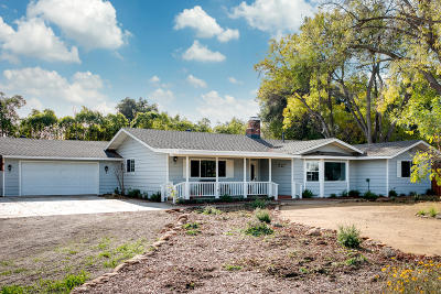 Ojai Single Family Home For Sale: 1694 S Rice Road