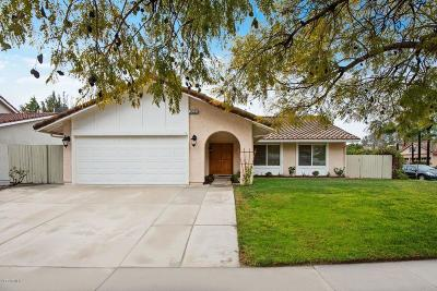 Thousand Oaks Single Family Home For Sale: 926 Silver Cloud Street