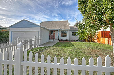 Ventura Single Family Home For Sale: 773 Arbor Avenue