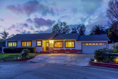 Camarillo Single Family Home Active Under Contract: 171 Maria Lane