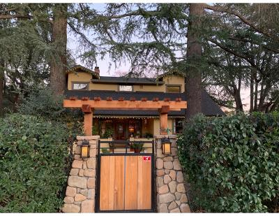 Ojai Single Family Home For Sale: 704 Daly Road