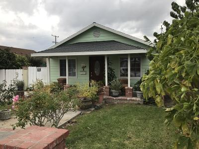 Oxnard Multi Family Home For Sale: 129 Garfield Avenue