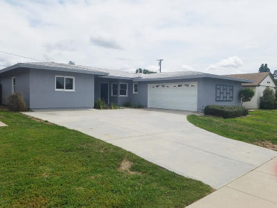 Camarillo Single Family Home Active Under Contract: 826 Calle La Rocha