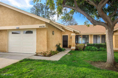 Camarillo Single Family Home Active Under Contract: 44156 Village 44