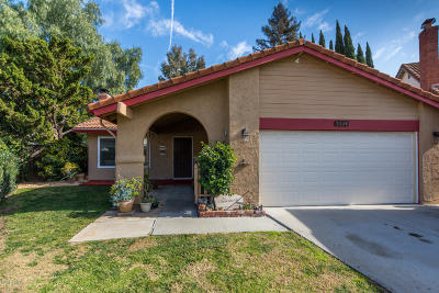 Santa Paula Single Family Home Active Under Contract: 1024 Elderberry Court