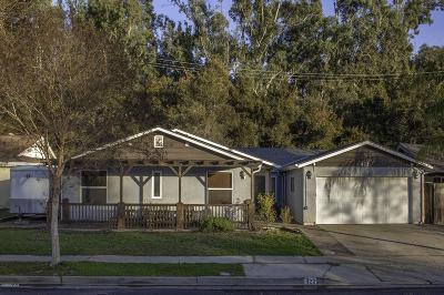 Ojai Single Family Home For Sale: 422 Descanso Avenue