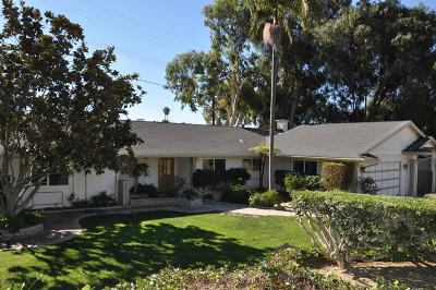 Ventura Single Family Home For Sale: 1291 Colina Vista