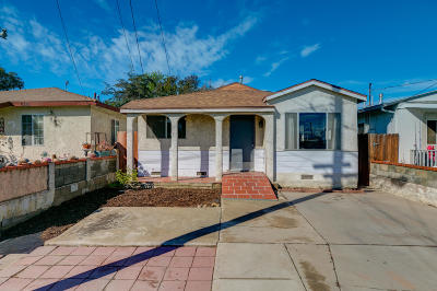 Ventura Single Family Home Active Under Contract: 11339 Aster Street