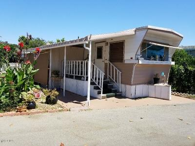 Ojai Mobile Home For Sale: 1075 Loma Drive #5