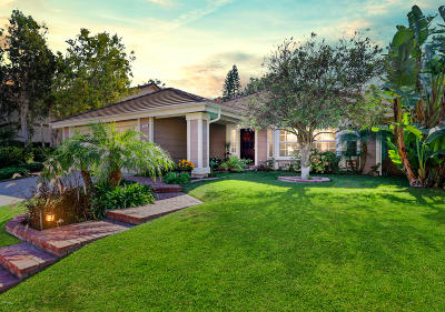 Thousand Oaks Single Family Home For Sale: 1834 Gammon Court