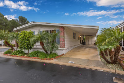 Camarillo Single Family Home For Sale: 199 Rancho Adolfo Drive #125