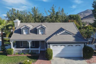Simi Valley Single Family Home For Sale: 550 Stoney Peak Court