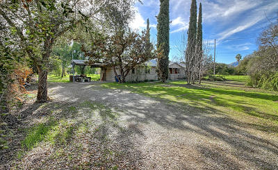 Ojai Single Family Home Active Under Contract: 950 Fairview Road