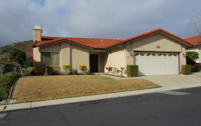 Camarillo Single Family Home For Sale: 1117 Belleza Street