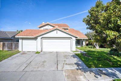 Oxnard Single Family Home For Sale: 2113 Mistral Place