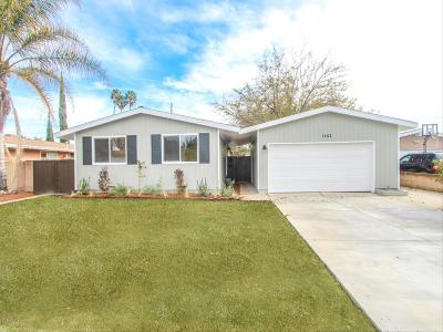 Simi Valley Single Family Home For Sale: 1462 4th Street