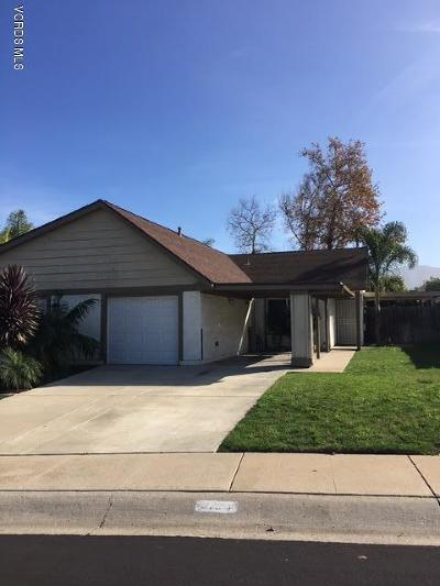 Camarillo Single Family Home For Sale: 5194 Prairieview Street
