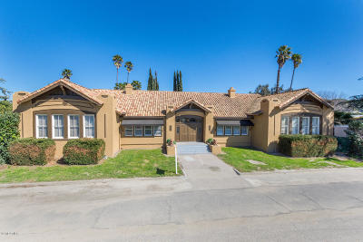 Fillmore Single Family Home For Sale: 1098 Ventura Street