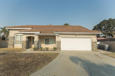 Oxnard Single Family Home For Sale: 2574 Joshua Court