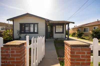 Ventura Single Family Home Active Under Contract: 284 W Harrison Avenue