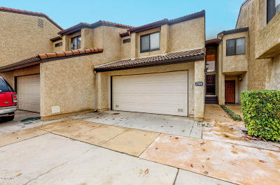 Oxnard Condo/Townhouse For Sale: 2544 Danube Way