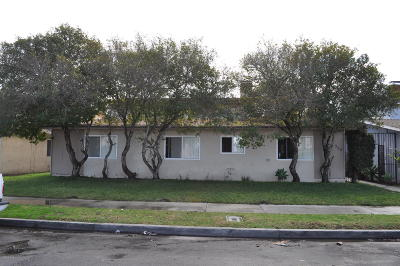 Oxnard Multi Family Home For Sale: 320 Canterbury Way