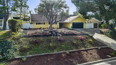 Thousand Oaks Single Family Home For Sale: 856 Old Farm Road
