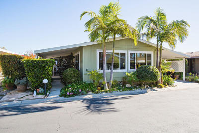 Ventura Mobile Home Active Under Contract: 4700 Aurora Drive #31