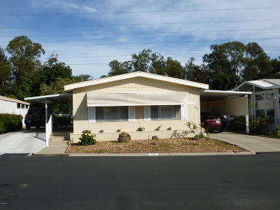 Ventura Mobile Home For Sale: 198 Browning Avenue