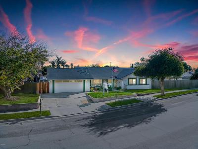 Ventura Single Family Home For Sale: 6518 Stork Street