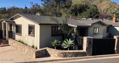 Ventura Single Family Home For Sale: 2889 Grove Lane