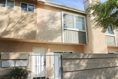Oxnard Condo/Townhouse For Sale: 5179 Bienville Walk