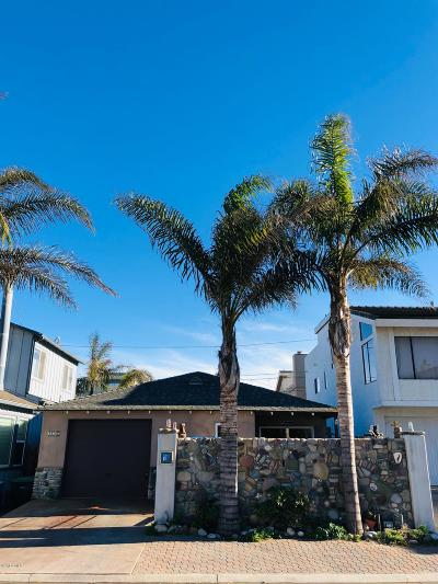 Silverstrand Beach - 0308, Hollywood By The Sea - 0303 Single Family Home For Sale: 116 Oxnard Avenue