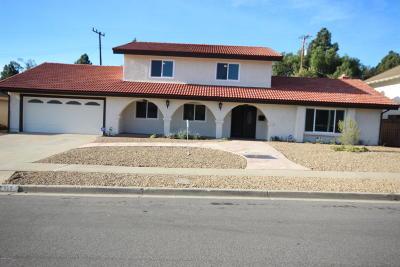 Camarillo Single Family Home For Sale: 125 Camino La Madera