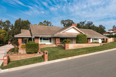 Camarillo Single Family Home For Sale: 217 Alviso Drive