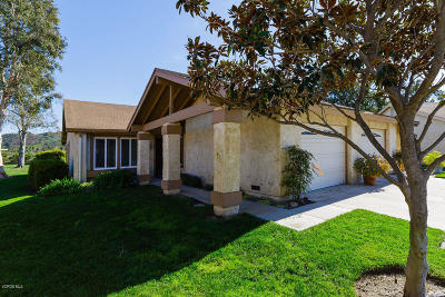 Camarillo Single Family Home Active Under Contract: 38022 Village 38