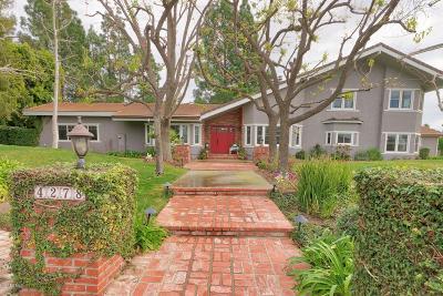 Somis Single Family Home For Sale: 4278 Blackberry Lane