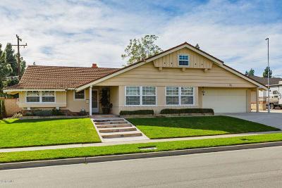 Camarillo Single Family Home For Sale: 85 Camino La Madera