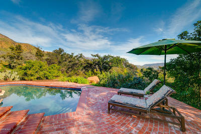 Ojai Single Family Home Active Under Contract: 1296 Foothill Road