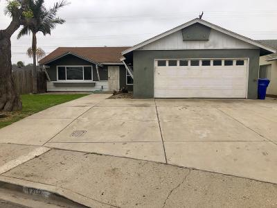 Port Hueneme Single Family Home For Sale: 1712 7th Place