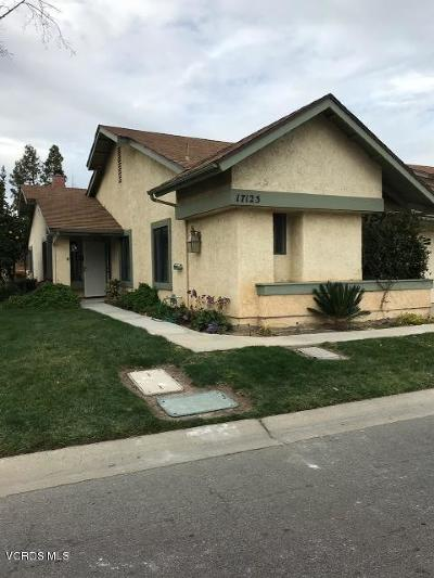 Camarillo Condo/Townhouse For Sale: 17125 Village 17