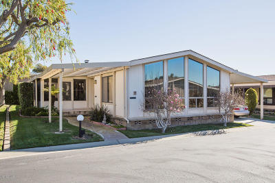 Ventura Mobile Home Active Under Contract: 4700 Aurora Drive #88