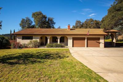 Ojai Single Family Home Active Under Contract: 2431 Burnham Road