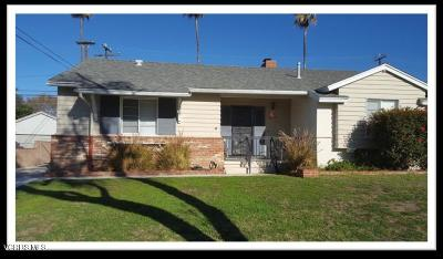 ventura Single Family Home For Sale: 4629 Varsity Street