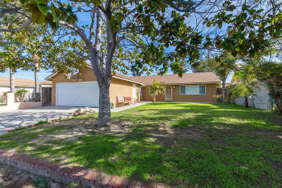 Oxnard Single Family Home Active Under Contract: 3650 San Simeon Avenue