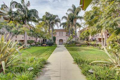 Santa Barbara Condo/Townhouse For Sale: 345 Por La Mar Circle