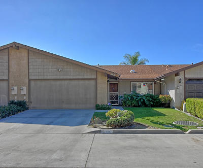 Santa Paula Single Family Home For Sale: 126 Dale Court