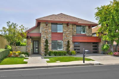 Westlake Village Single Family Home For Sale: 1400 Redsail Circle