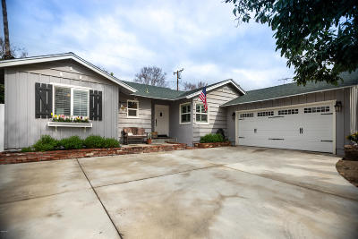 Simi Valley Single Family Home Active Under Contract: 4129 Deborah Street
