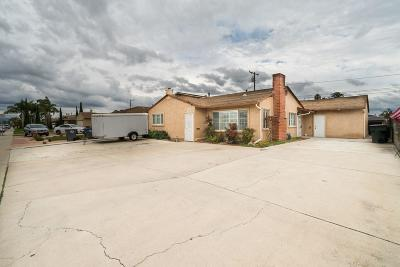 Oxnard Single Family Home Active Under Contract: 3128 S C Street